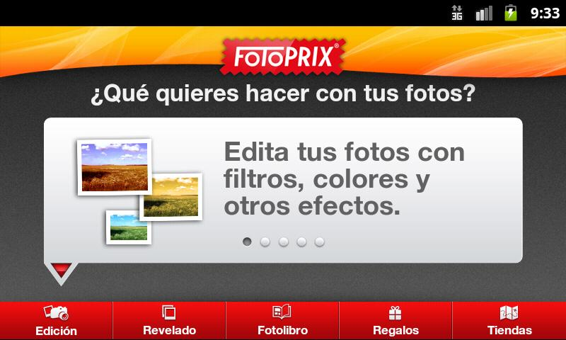 Fotoprix - screenshot