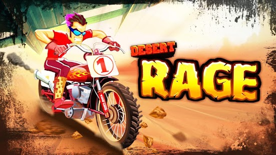 Desert Rage - Bike Racing Game - screenshot thumbnail