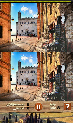 Find the Difference Italy Tour - screenshot