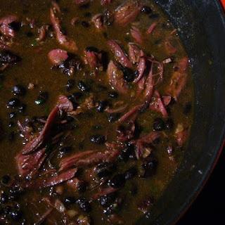 Pomegranate-Chipotle Black Bean Soup.
