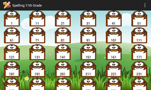 FREE Spelling 11th Grade