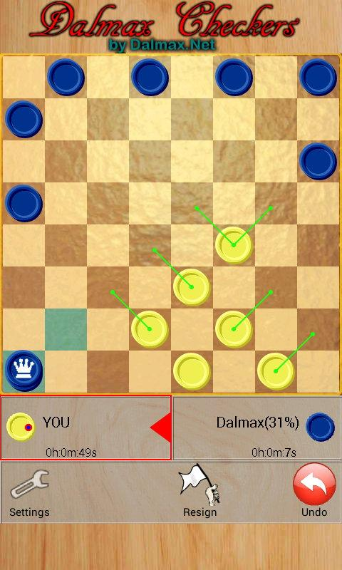 Checkers by Dalmax- screenshot