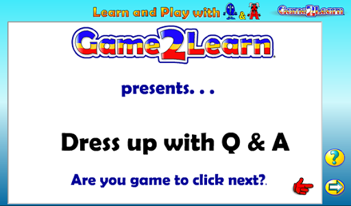 Dress up with Q A