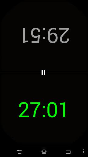 Scrabble Clock