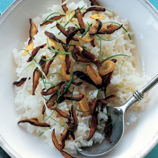 Jasmine Rice with Shiitakes and Scallions Recipe