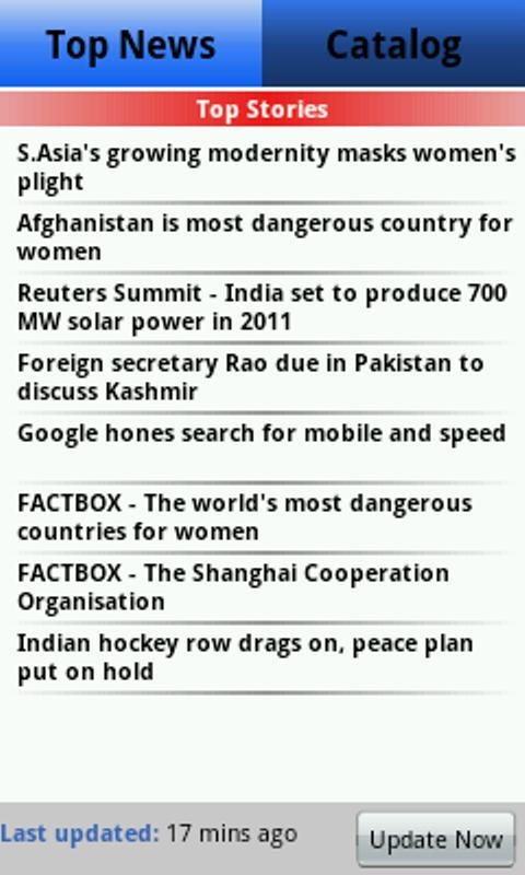 QuickNews India - screenshot