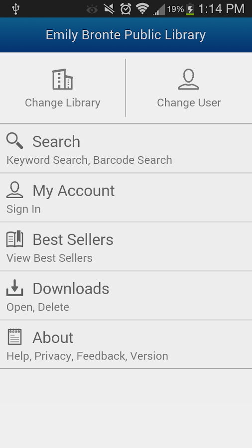 BookMyne- screenshot