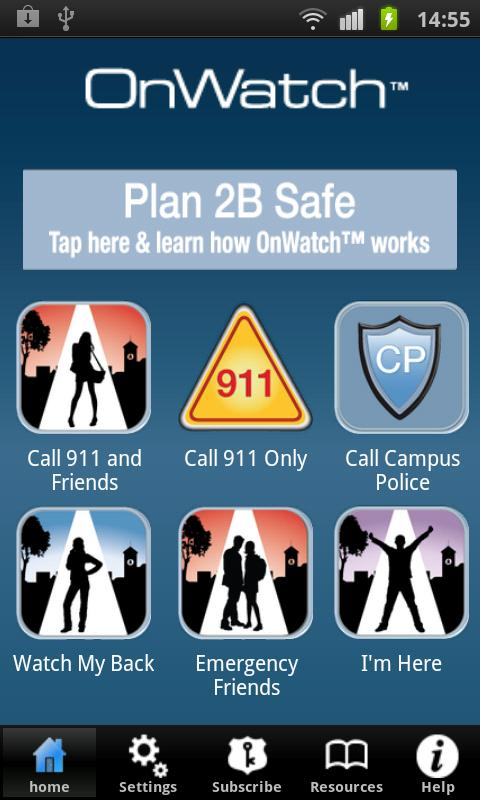 OnWatchOnCampus  Safety First - screenshot