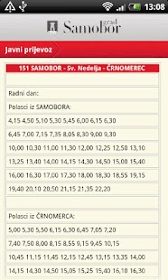 Samobor info - screenshot thumbnail