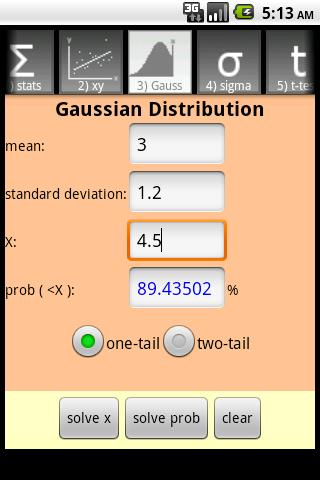 QuickStat Premium- screenshot