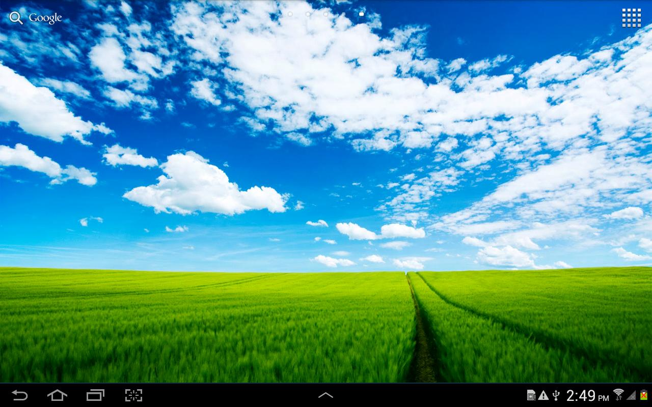 Sky Live Wallpaper - screenshot