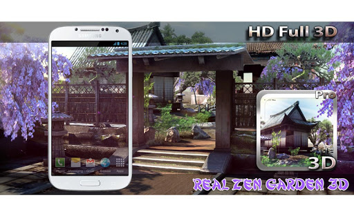 Real Zen Garden 3D LWP Apps (apk) baixar gratuito para Android/PC/Windows screenshot