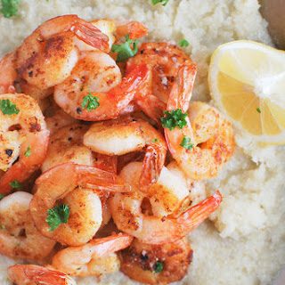 Paleo Shrimp and Grits + a giveaway!