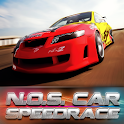 N.O.S. Car Speedrace logo