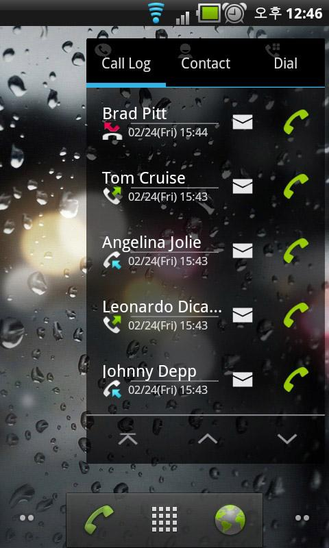 Widget Phone Pro - screenshot