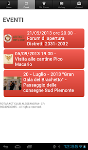 Rotaract Club Alessandria - screenshot thumbnail