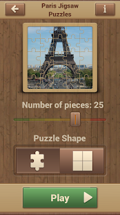 Paris Jigsaw Puzzles screenshot