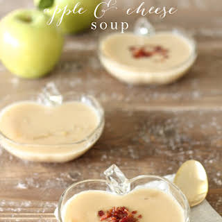 Apple & Cheese Soup.
