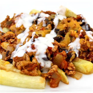 Chili Cheese Fries Made Guilt-Free (Taco Style)