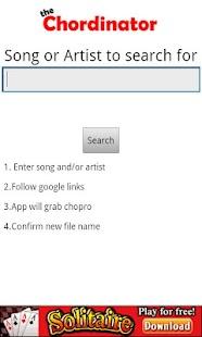 The Chordinator- screenshot thumbnail