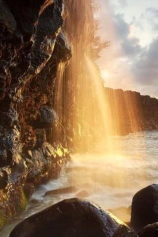 3D Waterfall Live Wallpapers - screenshot