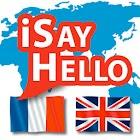 iSayHello French - English (Translator) icon