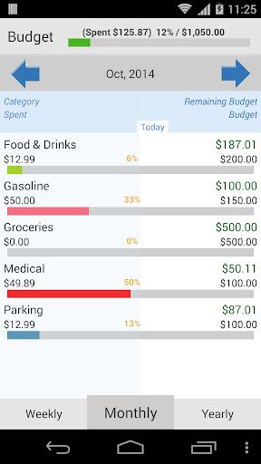 【免費財經App】个人理财:我的预算-APP點子