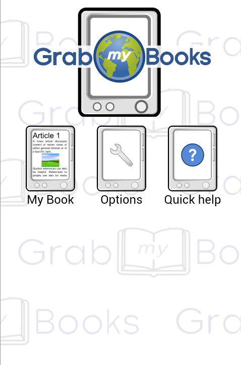 GrabMyBooks Lite- screenshot