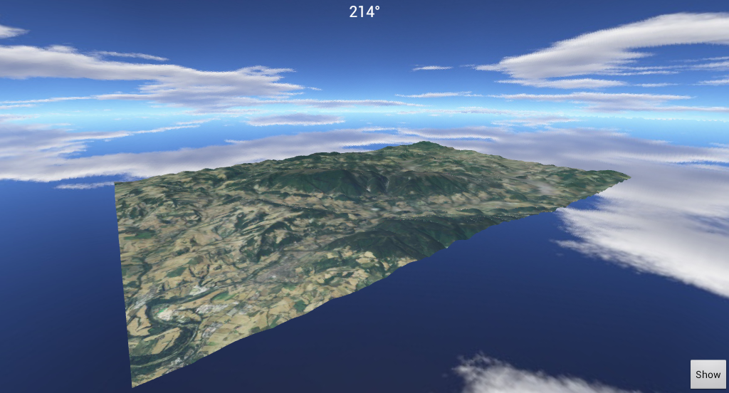 3D Map Gps Hiking Navigator - screenshot