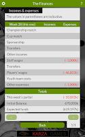 Screenshot of Karza Football Man. 2015