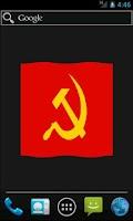 Screenshot of Anarchist & Communist Flag LWP