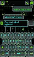Screenshot of GO Keyboard Alien X