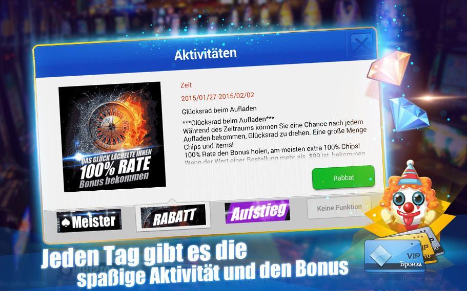 Deutsch Texas Hold'em - screenshot