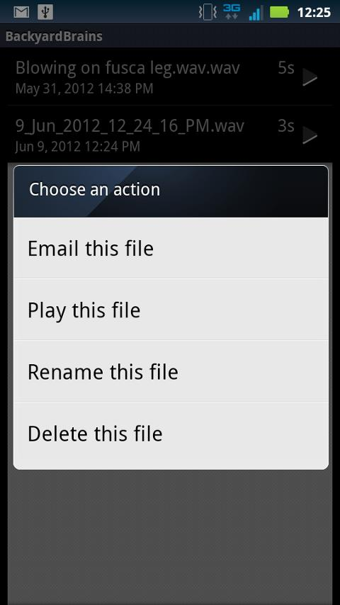 Spike Recorder- screenshot