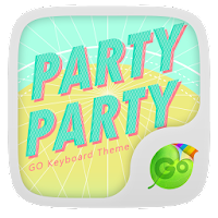 GO Keyboard Party Party Theme 1.0