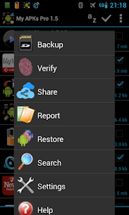 My APKs Pro backup manage apps - screenshot thumbnail