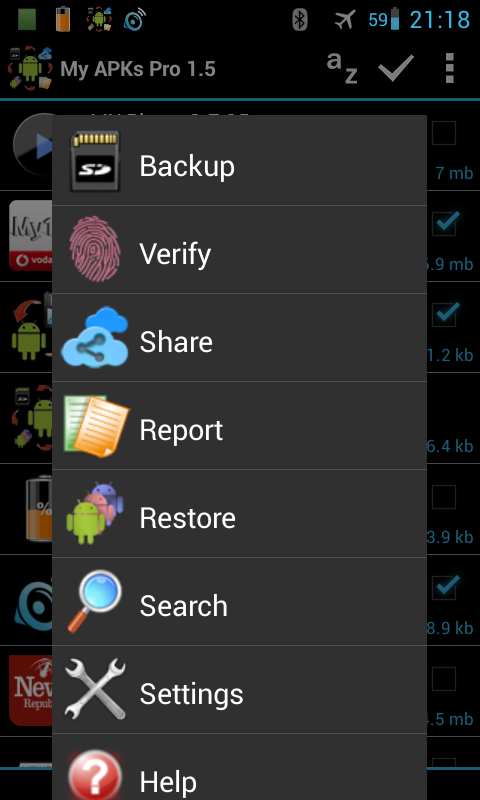 My APKs Pro backup manage apps - screenshot