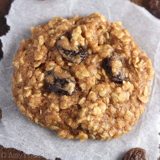 The Ultimate Healthy Soft & Chewy Oatmeal Raisin Cookies.