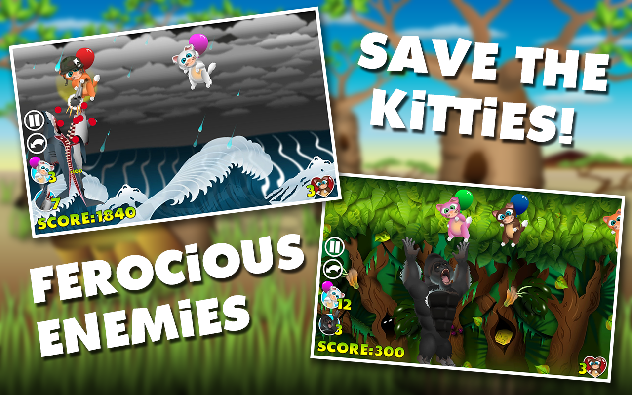 KittyCatch- screenshot