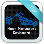 Neon Motocross Keyboard