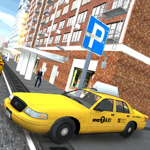 出租車狂野飆車 模擬 App LOGO-硬是要APP