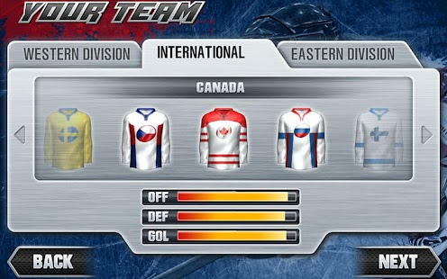 Hockey Nations 2011 THD - screenshot thumbnail