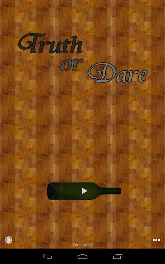 Truth or Dare HD for pad - screenshot