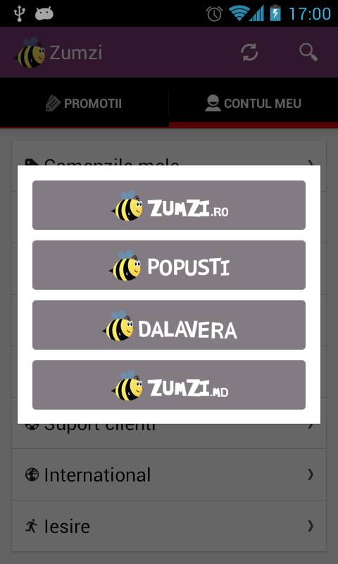 Zumzi - screenshot
