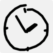 Graffiti Analog Clock [Widget]