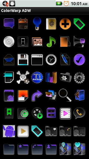 ADW Theme ColorWarp LITE