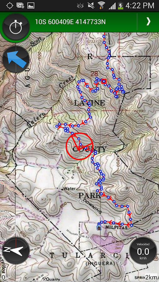 ViewRanger GPS & Trails - screenshot