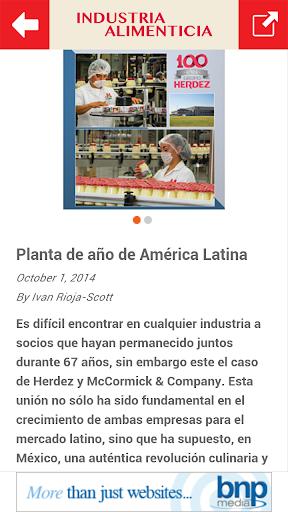 免費新聞App|Industria Alimenticia|阿達玩APP