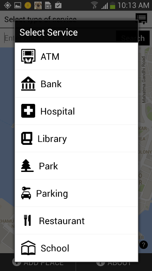 Accessible Places - screenshot