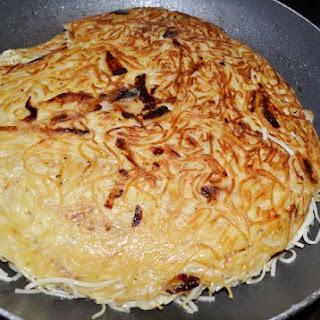 Savory Noodle Kugel (aka Salt and Pepper Kugel).